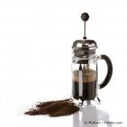 Kaffeezubereitung aus der Presskanne