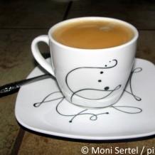 Richtige Kaffeetasse zum Kaffee